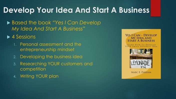 CAPBuilder Network COACHING develop your idea